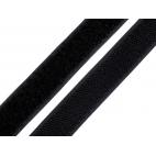 Scratch 3.8cm BOUCLE et CROCHET Noir (au mètre)
