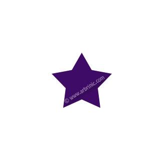 Pressions KAM T5 - Violet B35 - 20 jeux ETOILES
