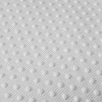 Antiskid baby shoe soles Grip fabric White (per 10cm)