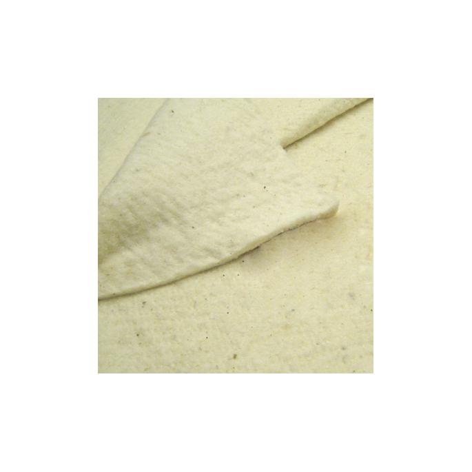Organic cotton fleece non woven