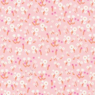 Organic cotton print Stay Gold Marigold Blossom Cloud9