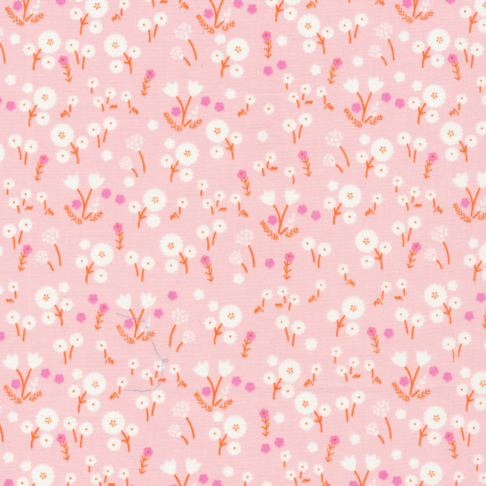 Coton Bio imprimé Stay Gold Marigold Blossom Cloud9 (par 10cm)