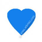 KAM Snaps T5 - Aqua B8 - 20 HEART sets