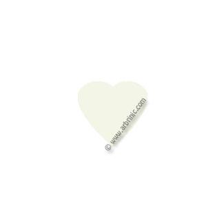 KAM Snaps T5 - White B3 - 20 HEART sets