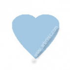 KAM Snaps T5 - Light Blue B20 - 20 HEART sets