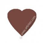 KAM Snaps T5 - Chocolate B26 - 20 HEART sets