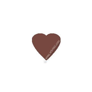 Pressions KAM T5 - Chocolat B26 - 20 jeux COEURS
