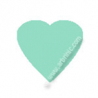 KAM Snaps T5 - Ice mint B19 - 20 HEART sets