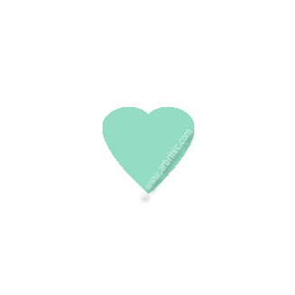 KAM Snaps T5 - Ice mint B19 - 20 HEART sets