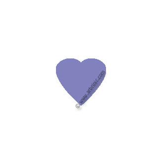 KAM Snaps T5 - Lavendar B28 - 20 HEART sets