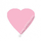 KAM Snaps T5 - Light Pink B18 - 20 HEART sets