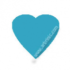 KAM Snaps T5 - Turquoise B46 - 20 HEART sets