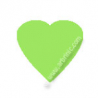 KAM Snaps T5 - Lime Green B50 - 20 HEART sets