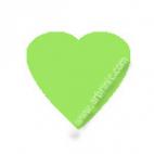 Pressions KAM T5 - Vert Lime B50 - 20 jeux COEURS