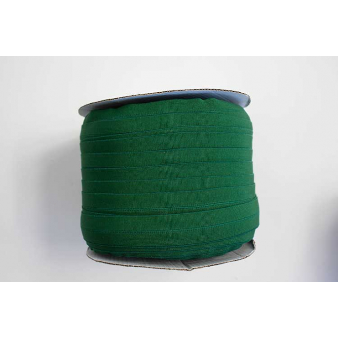 Fold Over Elastic 1 inch Forest green (100m roll)