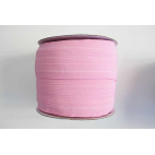 Fold Over Elastic 1 inch Light Pink (100m roll)