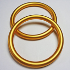 Sling Rings Golden Yellow Size S (1 pair)