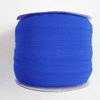 Biais élastique 2.5cm Bleu roi (Bobine 100m)