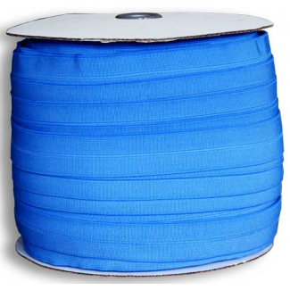 Fold Over Elastic 1 inch French Blue (100m roll)