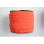 Fold Over Elastic 1 inch Orange (100m roll)