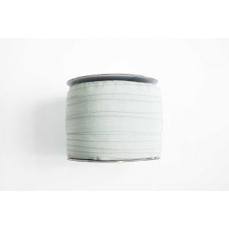 Fold Over Elastic 1 inch Grey (100m roll)