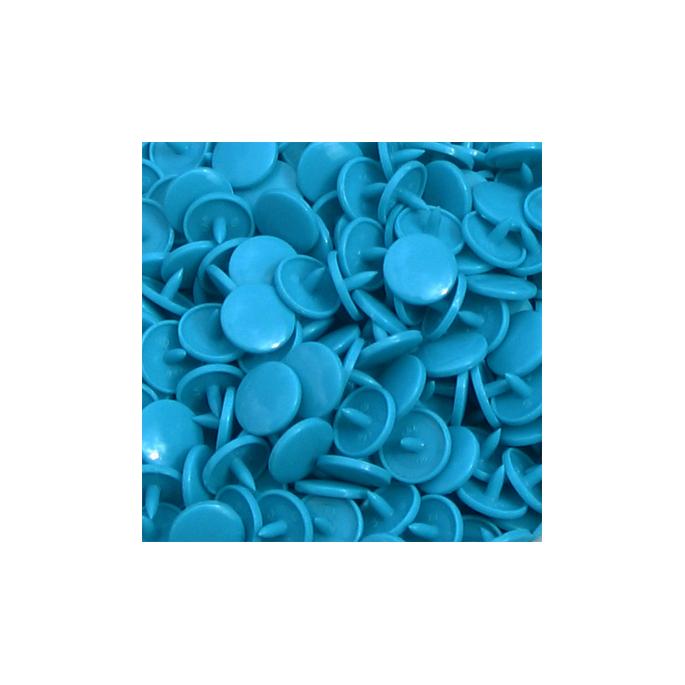Pressions KAM T8 - Turquoise B46 - 100 jeux RONDS