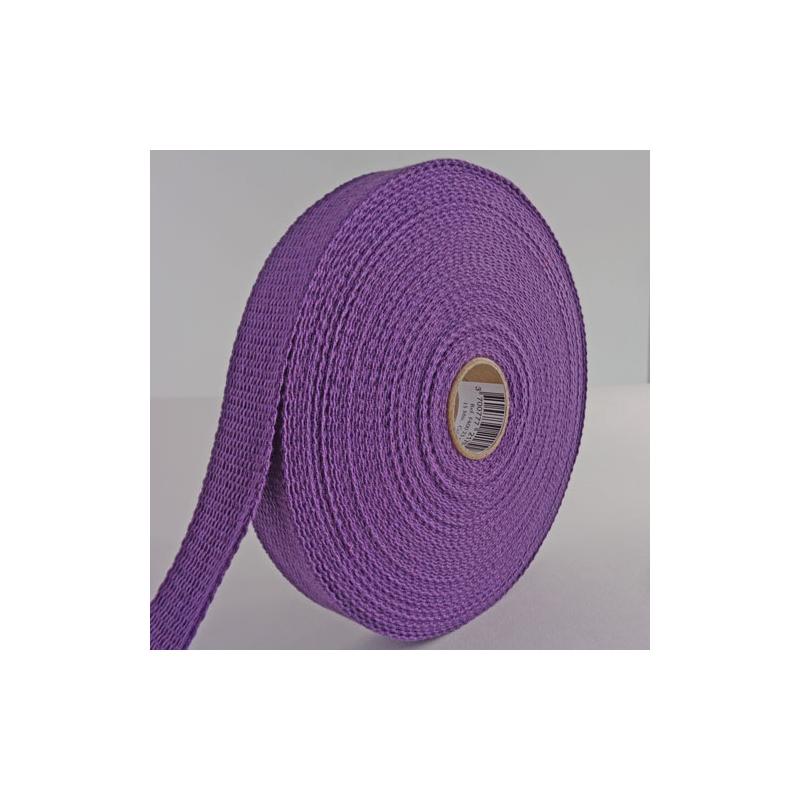 sangle coton 30mm violet au m tre. Black Bedroom Furniture Sets. Home Design Ideas