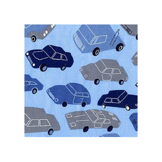 Cotton woven Men things Cars Timeless Treasures (per 10cm)