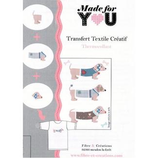 Transfert pour textile - Bassets