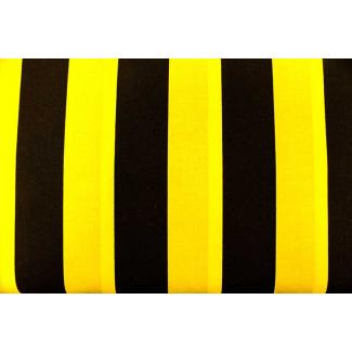 Cotton woven Bee stripes ( per 10cm)