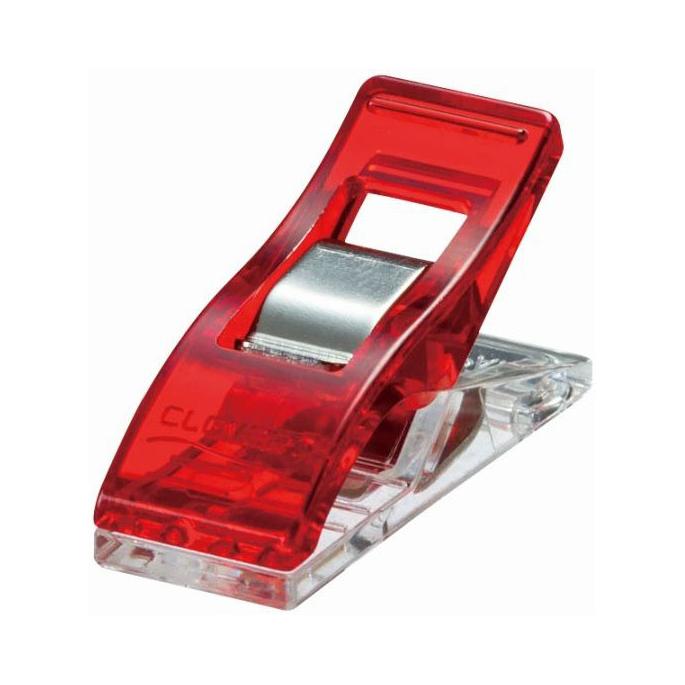 Pinces Prodige CLOVER Rouge (10 pinces)