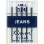 Machine needles Jeans 100 (x5)