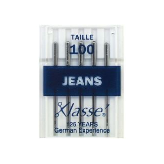 Machine needles Jeans 100 (x5)