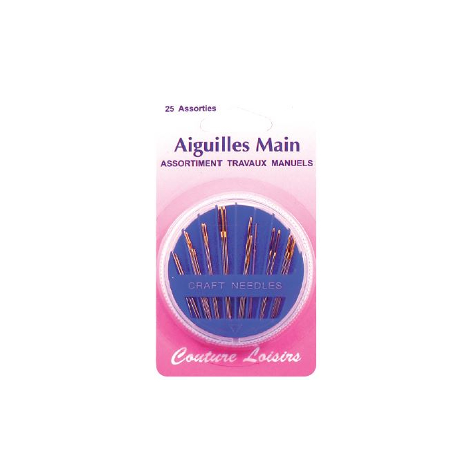 Craft needles in Assorted Sizes (x25)