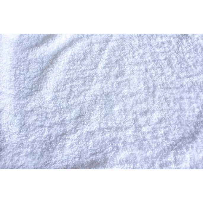 Eponge de coton Oekotex Blanc