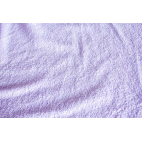 Cotton Terry Oekotex Width 160cm Lilac (per meter)