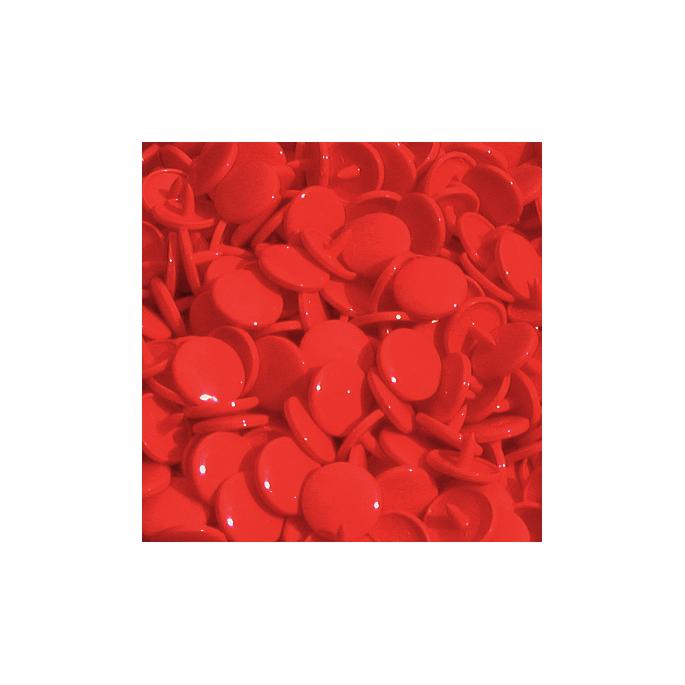 Pressions KAM T1 - Rouge B38 - 20 jeux RONDS