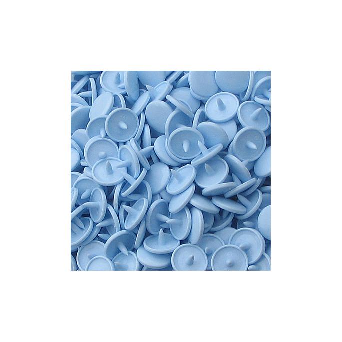 Pressions KAM T3 - Bleu clair B20 - 20 jeux RONDS