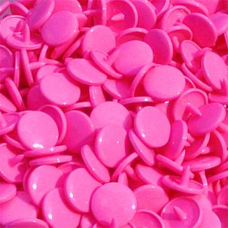 KAM Snaps - Hot pink B47 - 100 sets
