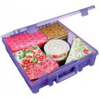 Super Satchel Single Compartment Purple by ARTBIN