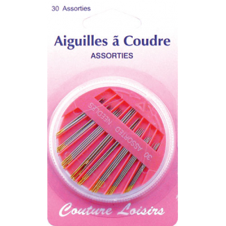 Sewing needles in Assorted Sizes (x30)