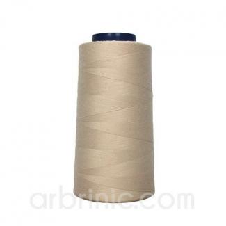 Cône fil polyester Beige (2743m)
