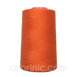 Polyester Serger and sewing Thread Cone (4573m) Orange