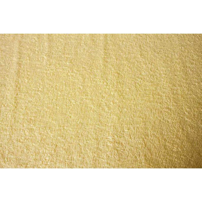 Cotton Terry Oekotex Width 160cm Butter yellow (per meter)