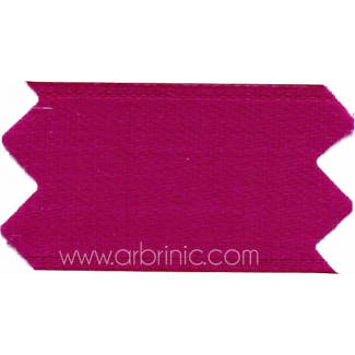 Satin Ribbon double face 11mm Azalea Pink (by meter)
