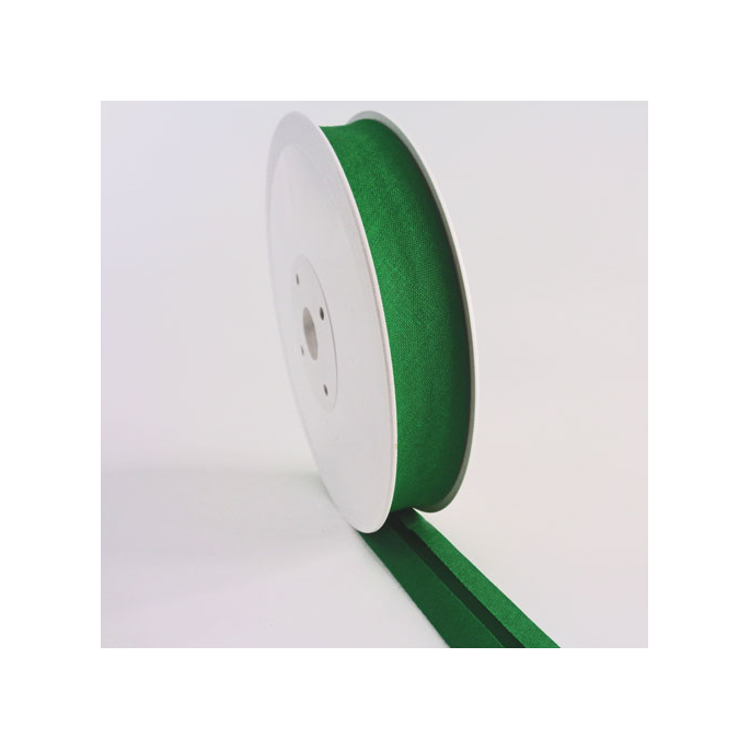 Single Fold Bias Binding 20mm Forest Green (by meter)