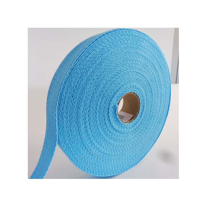 Cotton Webbing 30mm Lagon (by meter)
