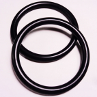 Anneaux de portage Noir Taille S (1 paire)