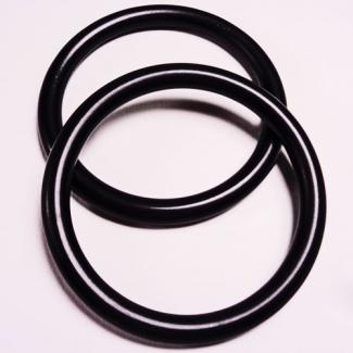 Sling Rings Black Size S (1 pair)