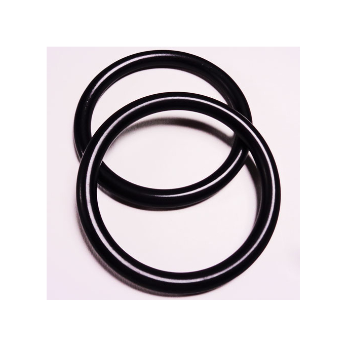 Sling Rings Black Size S (1 pair)